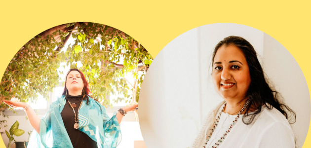 Divine Heart Healing Circle with Purnima Chaudhari & Brie Henderson